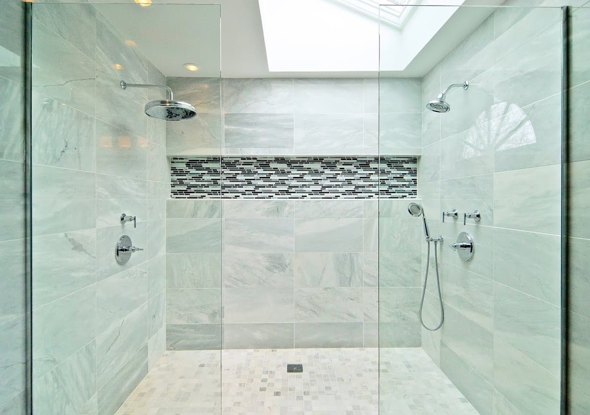 interior design bathroom remodel | chicago | McClure