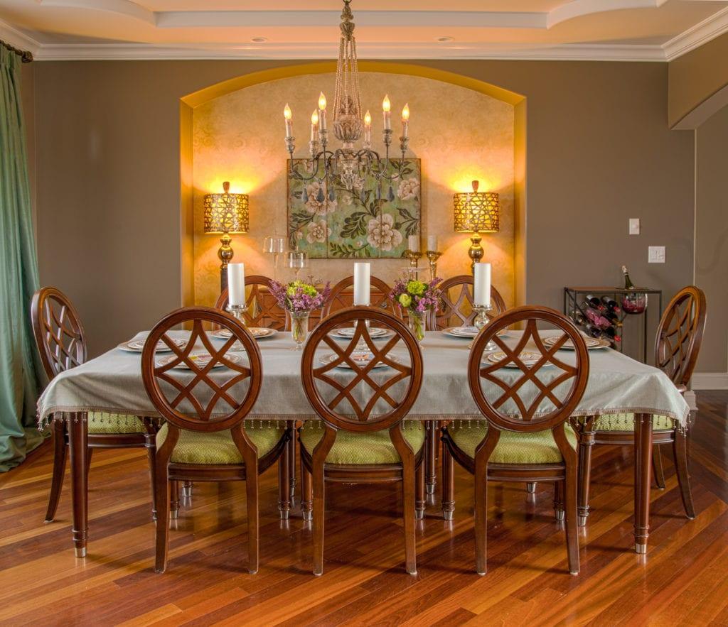 interior design dining room remodel   chicago   McClure