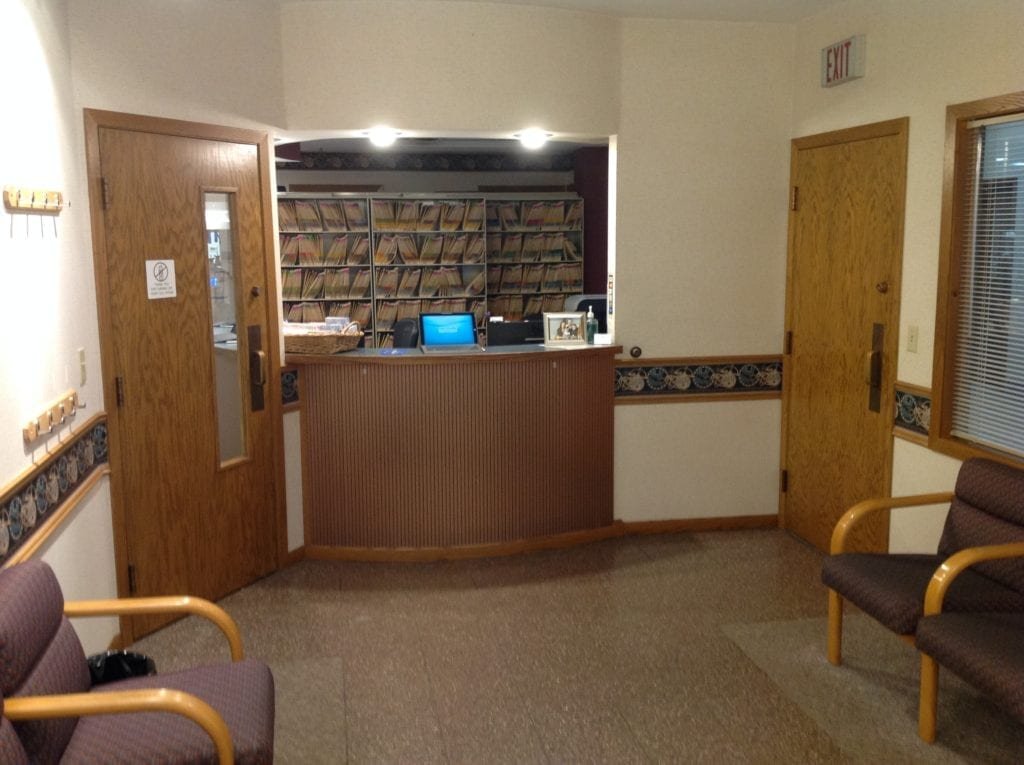 interior design dentist office commercial remodel   chicago   McClure