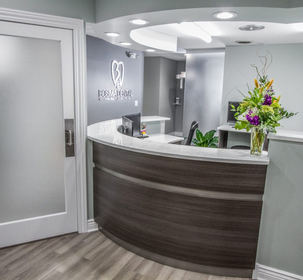 interior design dentist office commercial remodel | chicago | McClure