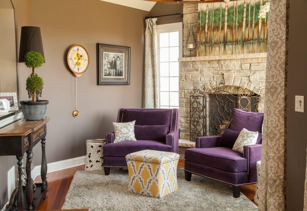 interior design living room remodel   chicago   McClure